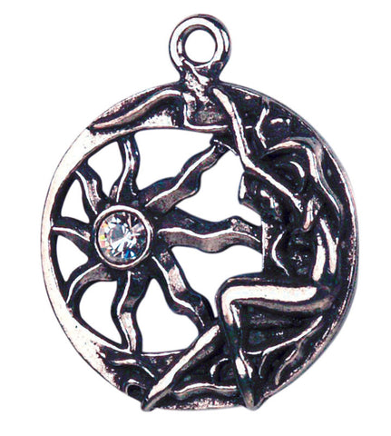 CS7 - Brigit's Sun Charm for Inner Light (Celtic Sorcery) at Enchanted Jewelry & Gifts