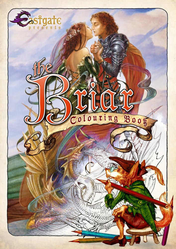 BCB1-Briar Coloring Book (Books) at Enchanted Jewelry & Gifts
