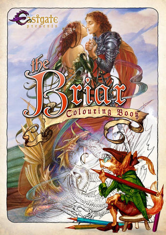 BCB1 - Briar Coloring Book (Color-In Books) at Enchanted Jewelry & Gifts