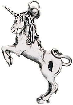 (Product Code: ESPD3) Unicorn Pendant for Health, Courage, & Protection, EarthSea Charms - EnchantedJewelry