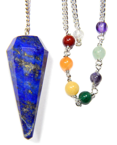 DPCLAP - Lapis Chakra Pendulum for Acquiring Wisdom (Pendulums) at Enchanted Jewelry & Gifts