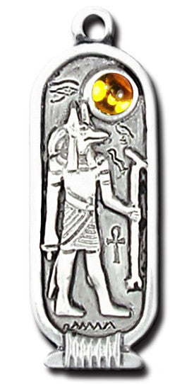 (Product Code: EBS107) Anubis (Jul 25th - Aug 28th), Egyptian Birth Signs - EnchantedJewelry