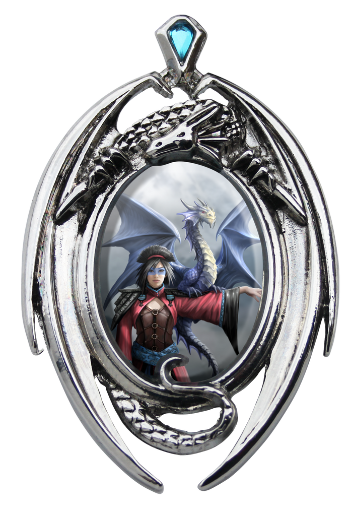 EC12-Look To The East Cameo by Anne Stokes (Enchanted Cameos) at Enchanted Jewelry & Gifts