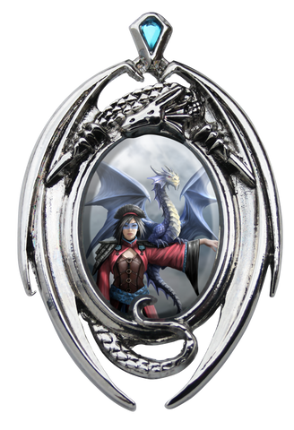 (Product Code: EC12) Look To The East Cameo by Anne Stokes, Enchanted Cameos - EnchantedJewelry