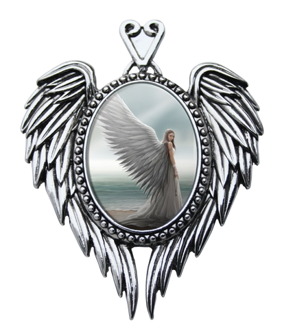(Product Code: EC15) Spirit Guide Cameo by Anne Stokes, Enchanted Cameos - EnchantedJewelry