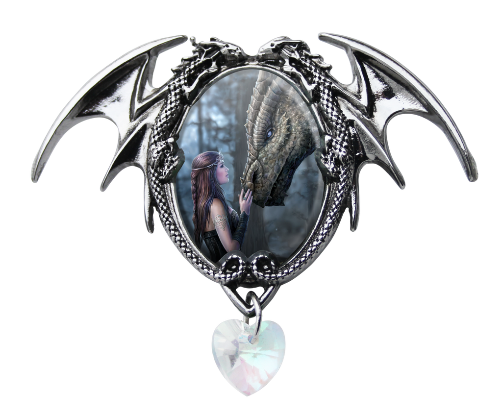 (Product Code: EC3) Once Upon A Time Cameo by Anne Stokes, Enchanted Cameos - EnchantedJewelry