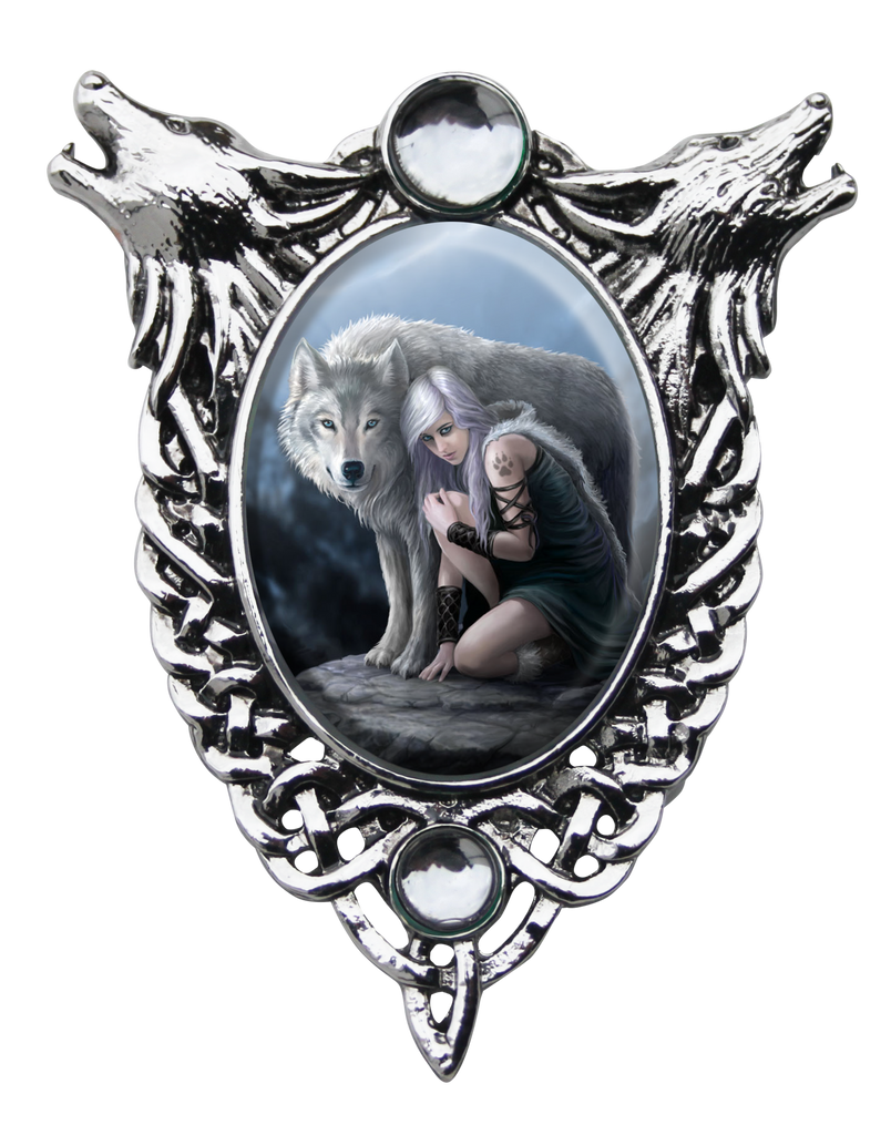(Product Code: EC7) Protector Cameo by Anne Stokes, Enchanted Cameos - EnchantedJewelry