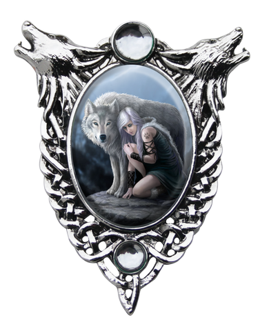 EC7 - Protector Cameo by Anne Stokes (Enchanted Cameos) at Enchanted Jewelry & Gifts