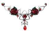 (Product Code: EHB05) Unity Rose for Love and Friendship, Hengebands - EnchantedJewelry - 1