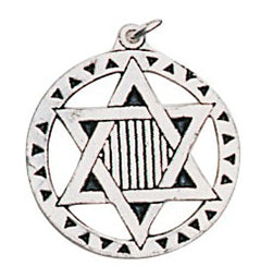 ESPB1 - Star of David Pendant for Perception & Knowledge (EarthSea Charms) at Enchanted Jewelry & Gifts