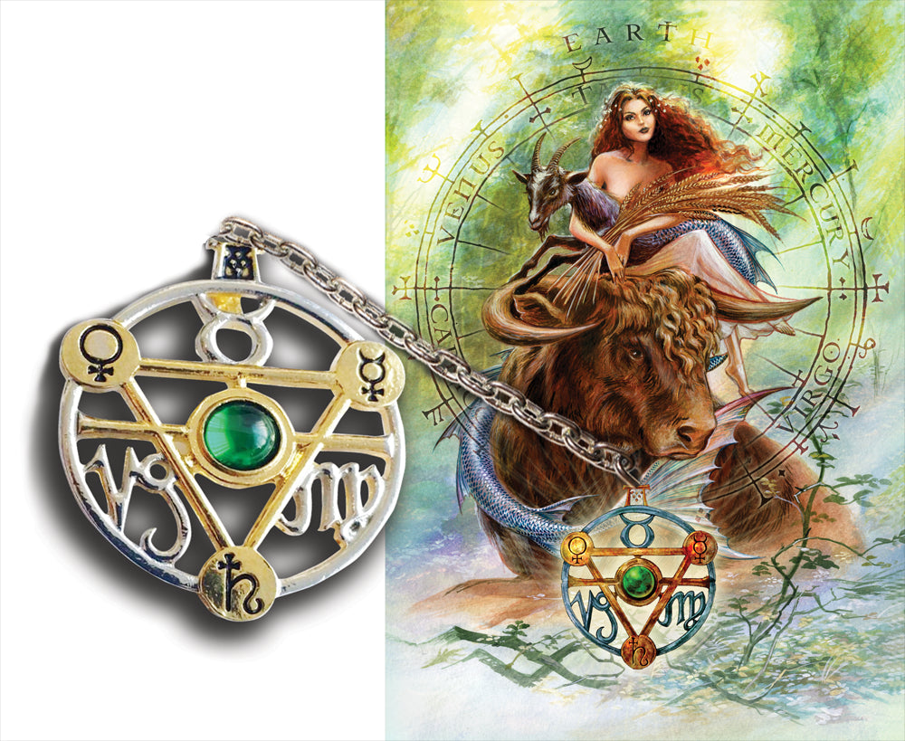 ET1-Elemental Earth Talisman and Card-Briar Elemental Talismans-Enchanted Jewelry & Gifts