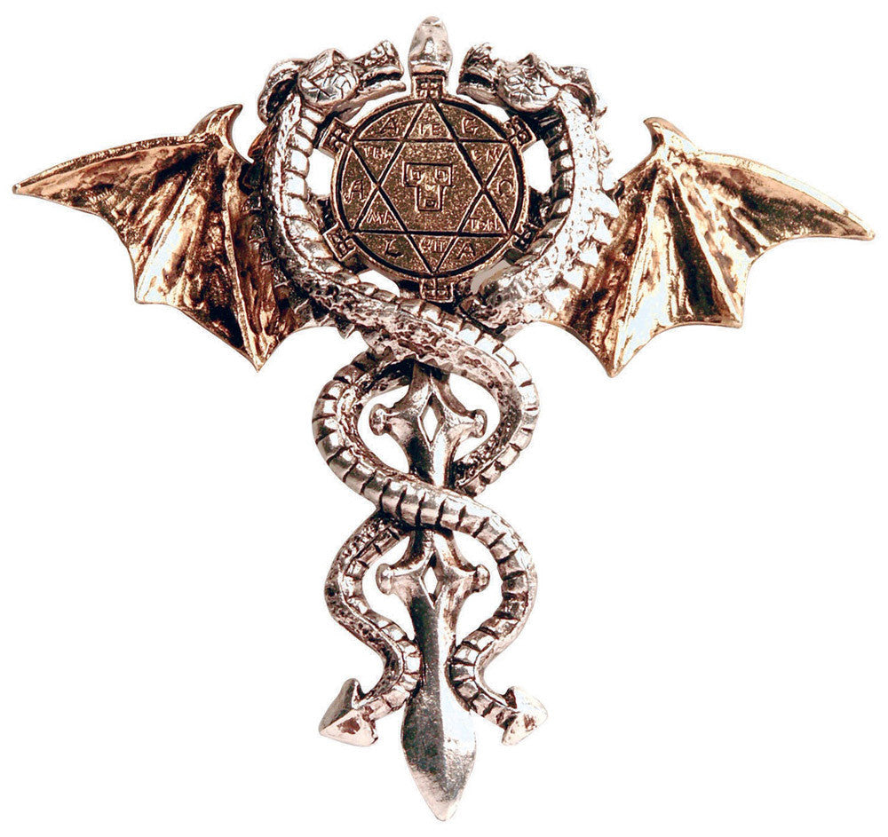 FB04-Sacred Dragon Amulet, Physical & Psychic Protection-Forbidden-Enchanted Jewelry & Gifts