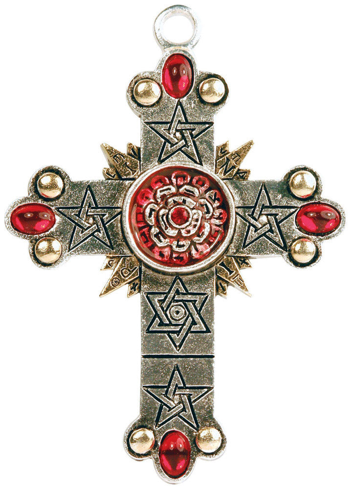 FB08 - The Rose Cross, High Magick (Forbidden) at Enchanted Jewelry & Gifts