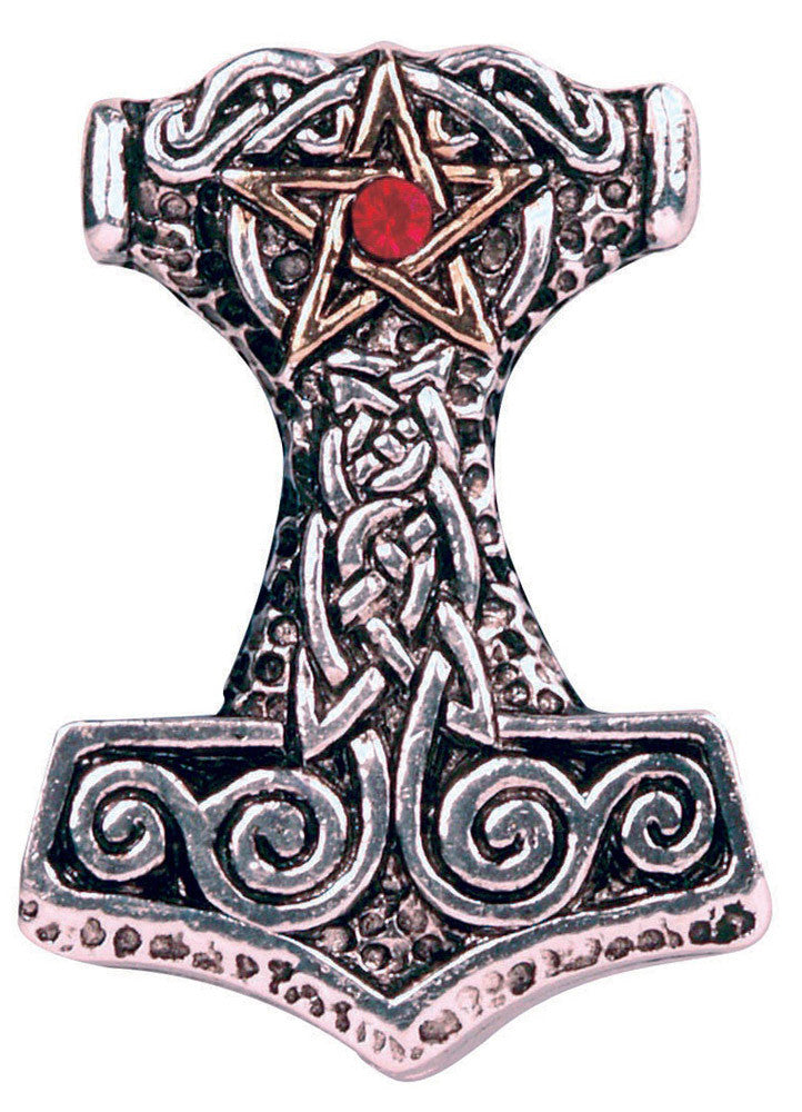 (Product Code: FB18) Thor's Hammer: Strength, Courage, & Success, Forbidden - EnchantedJewelry