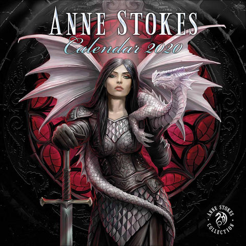 ASCAL20G - Anne Stokes 2020 General Art Calendar (Calendars) at Enchanted Jewelry & Gifts