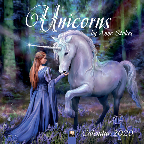 ASCAL20U - Anne Stokes 2020 Unicorn Calendar (Calendars) at Enchanted Jewelry & Gifts