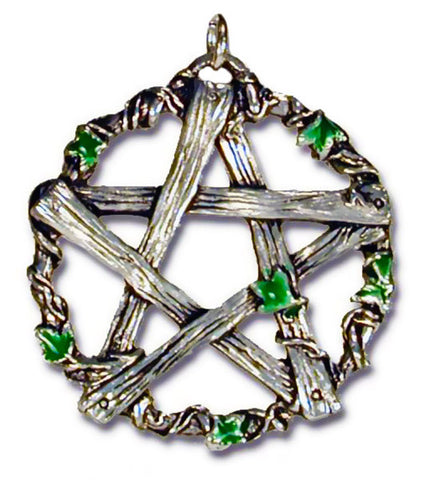 GA02-Pentagram of Pan, Against Trickery and Mischief (Galraedia) at Enchanted Jewelry & Gifts