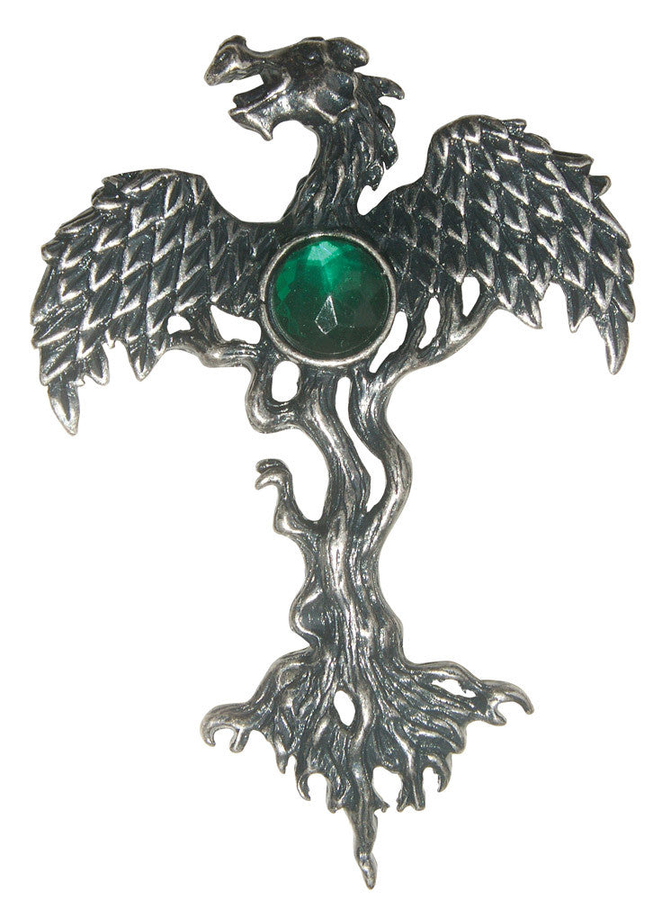 (Product Code: GW05) The Dragon Tree for Shielding from Danger, Greenwood Charms - EnchantedJewelry