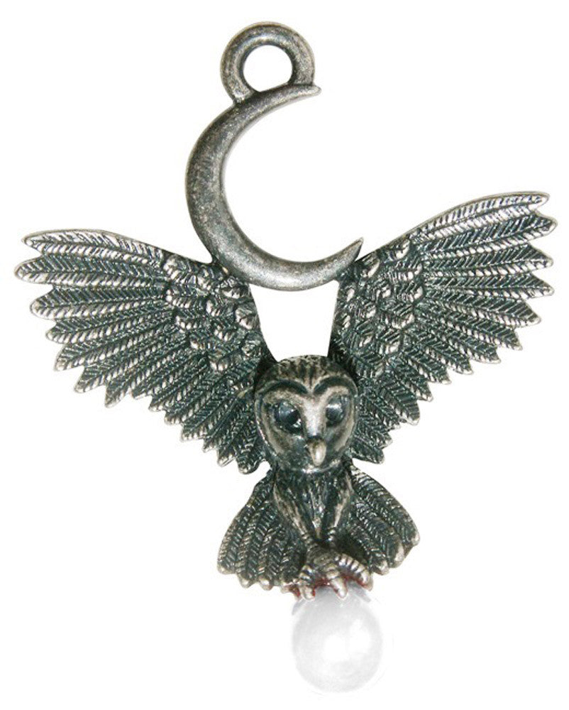 (Product Code: GW11) Flight of the Goddess for Awareness & Knowledge, Greenwood Charms - EnchantedJewelry