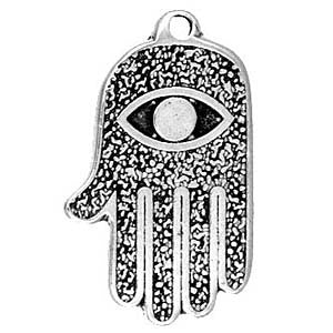 (Product Code: HAM01) All Seeing Eye Hand, Amulets of the World Carded - EnchantedJewelry