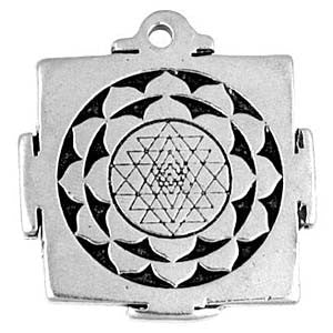 (Product Code: HAM17) Shri Yantra, Amulets of the World Carded - EnchantedJewelry