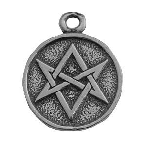 (Product Code: HAM41) Magic Hexagram, Amulets of the World Carded - EnchantedJewelry