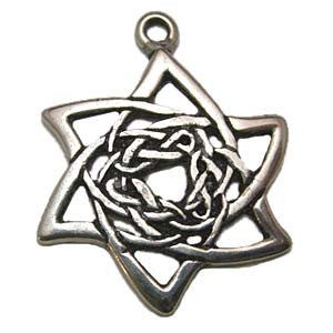 (Product Code: HCK02) Shape Shifter, Celtic Knots Carded - EnchantedJewelry
