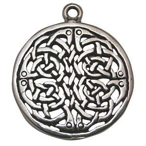 HCK05-Brigid Knot (Celtic Knots Carded) at Enchanted Jewelry & Gifts