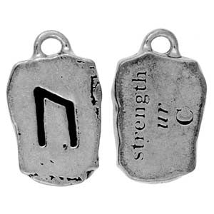 HRP02-Ur - Strength-Rune Pendants Carded-Enchanted Jewelry & Gifts