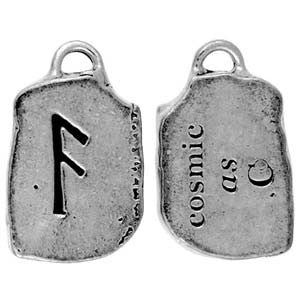 (Product Code: HRP04) As - Cosmic, Rune Pendants Carded - EnchantedJewelry