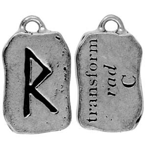 (Product Code: HRP05) Rad - Transform, Rune Pendants Carded - EnchantedJewelry