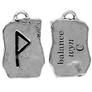 HRP08-Wyn - Balance-Rune Pendants Carded-Enchanted Jewelry & Gifts
