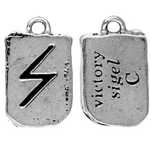 (Product Code: HRP16) Sigel - Victory, Rune Pendants Carded - EnchantedJewelry