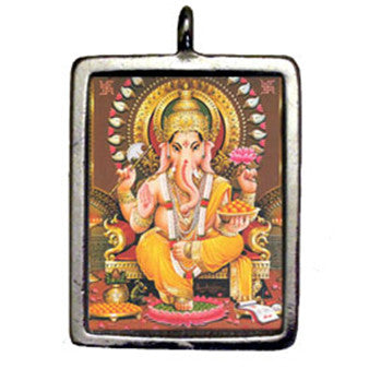 HSD13-Ganesh (Hindu Sacred Deities Carded) at Enchanted Jewelry & Gifts
