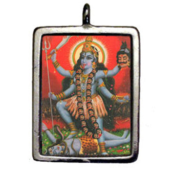 HSD21-Kali-Hindu Sacred Deities Carded-Enchanted Jewelry & Gifts