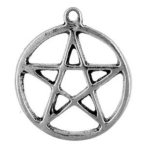 (Product Code: HWP06) Pentacle, Wicca Practical Magick Carded - EnchantedJewelry