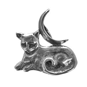 HWP11 - Mystic Moon Cat (Wicca Practical Magick Carded) at Enchanted Jewelry & Gifts