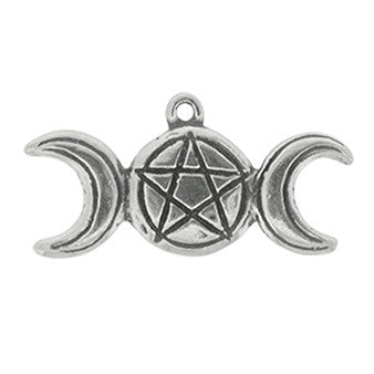 HWP72-Triple Goddess (Wicca Practical Magick Carded) at Enchanted Jewelry & Gifts