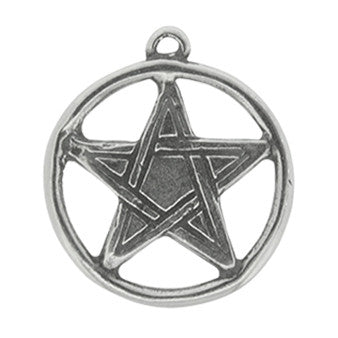 HWP75-Pentacle-Wicca Practical Magick Carded-Enchanted Jewelry & Gifts