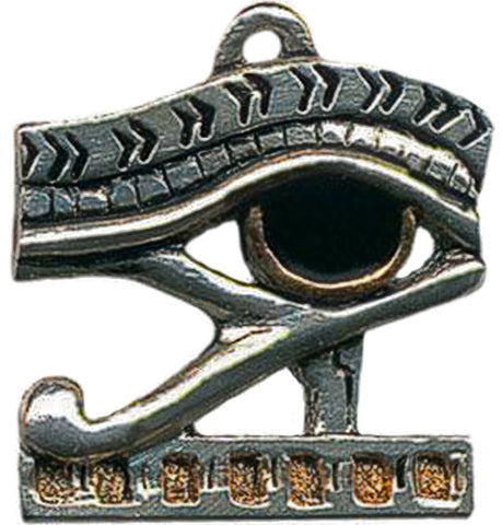 (Product Code: JA5) Eye of Horus Amulet for Health, Strength, and Protection, Jewels of Atum Ra - EnchantedJewelry