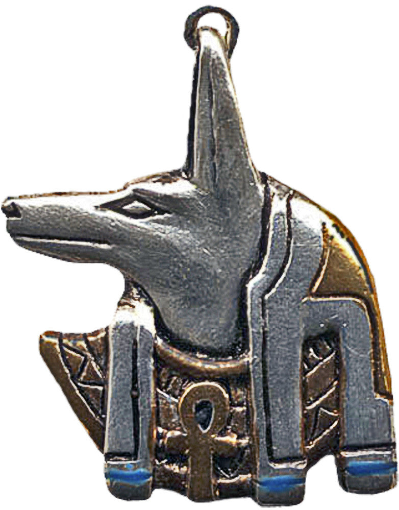 JA11 - Anubis Amulet for Guidance on Life's Journey (Jewels of Atum Ra) at Enchanted Jewelry & Gifts