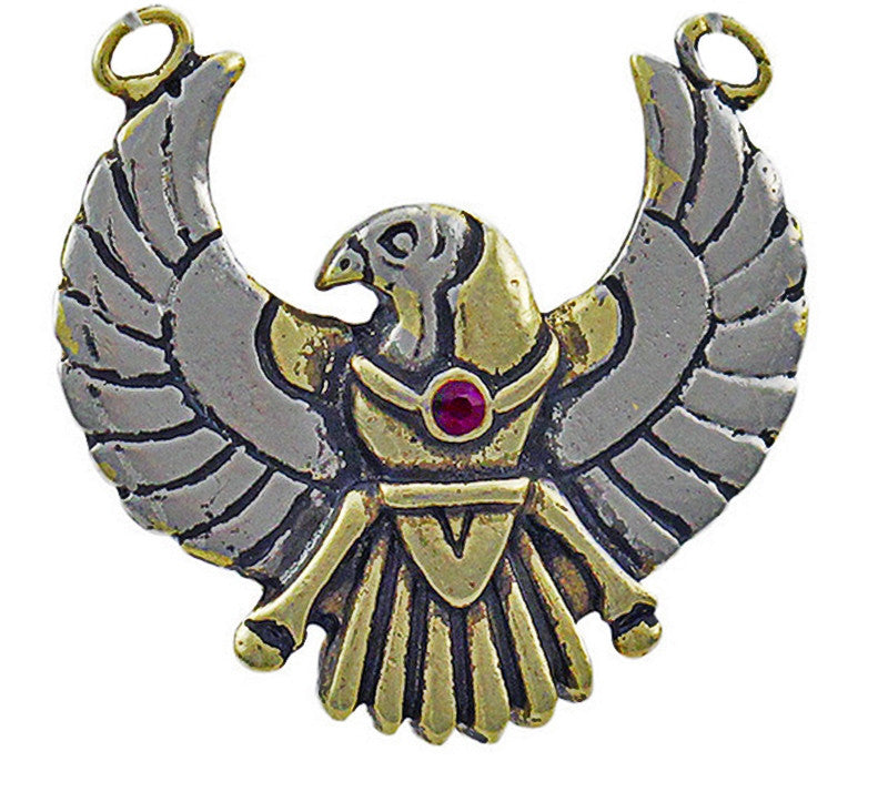JA15-Horus Amulet for Safety on Journeys (Jewels of Atum Ra) at Enchanted Jewelry & Gifts