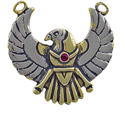 (Product Code: JA15) Horus Amulet for Safety on Journeys, Jewels of Atum Ra - EnchantedJewelry