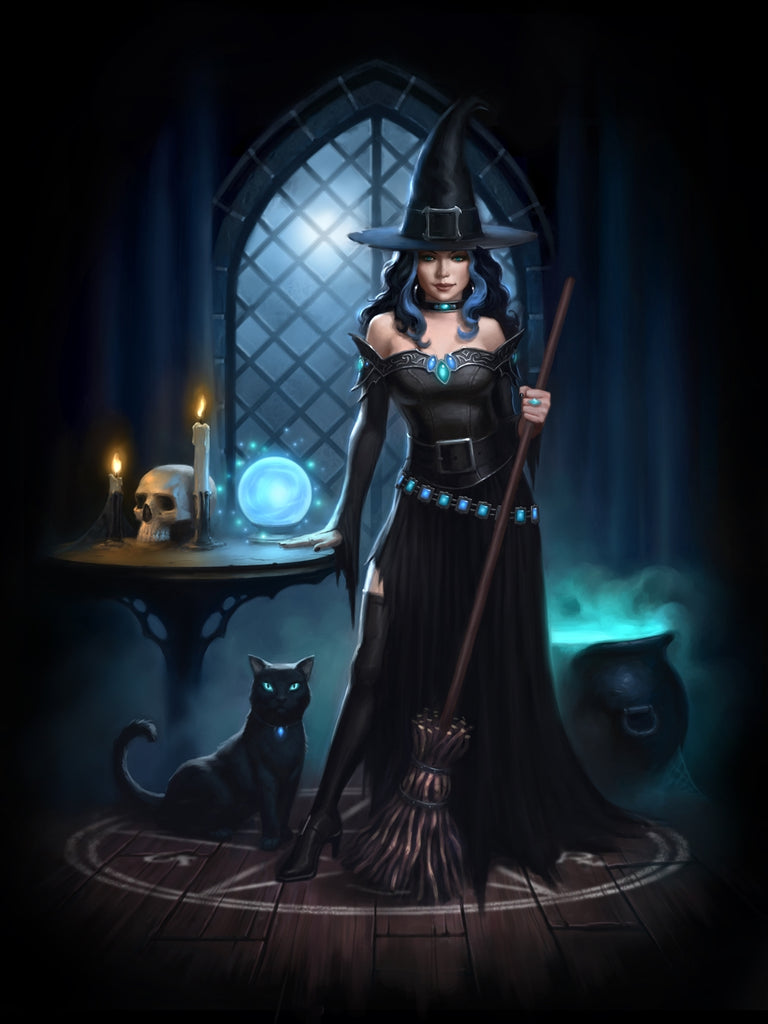 rJR03-Witches Lair Card (Cards - James Ryman) at Enchanted Jewelry & Gifts