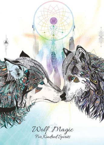 rKA8 - Wolf Magic Card for Kindred Spirits (Karin Roberts Cards) at Enchanted Jewelry & Gifts