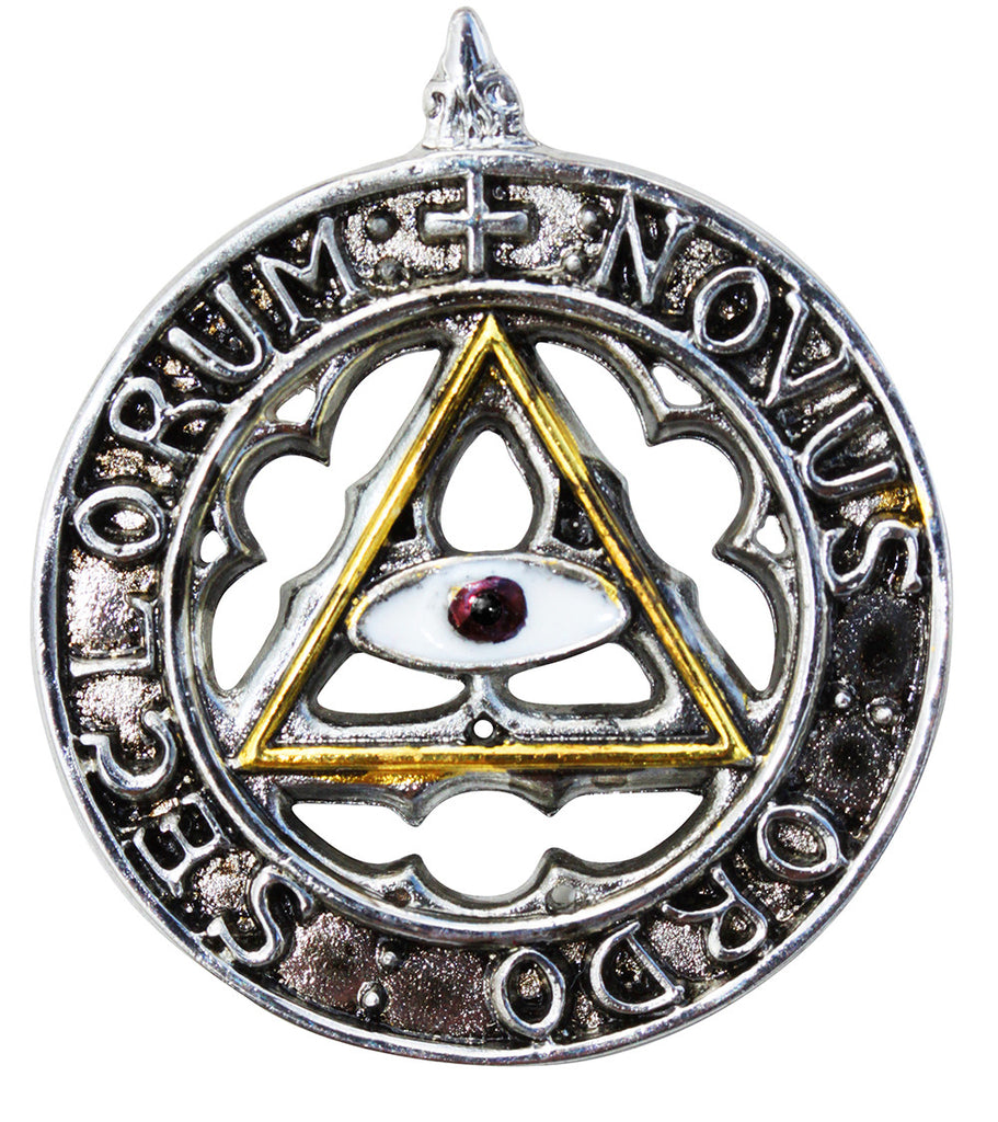 (Product Code: KT01) New Order of the Ages for an Enlightened and Happy Future, Knights Templar - EnchantedJewelry