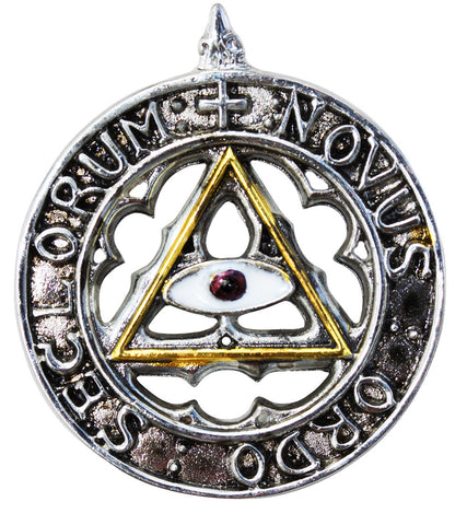 KT01-New Order of the Ages for an Enlightened and Happy Future (Knights Templar) at Enchanted Jewelry & Gifts