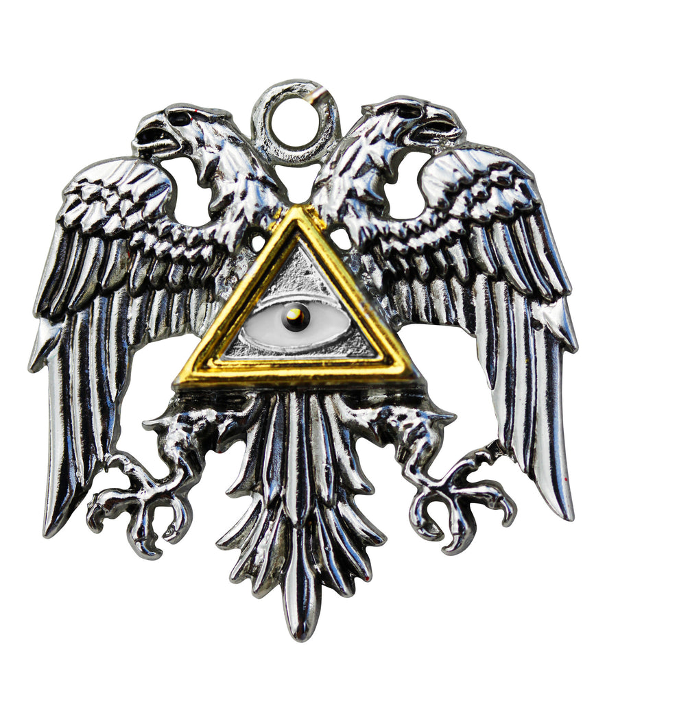 (Product Code: KT06) Byzantine Eagle for Power and Glory, Knights Templar - EnchantedJewelry