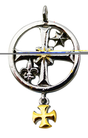 KT07-Rochefort Seal for Good Fortune and Financial Acumen (Knights Templar) at Enchanted Jewelry & Gifts