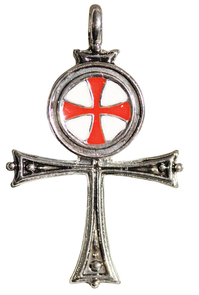KT10-Templar Ankh for the True Seeker of Self-Mastery and Immortality (Knights Templar) at Enchanted Jewelry & Gifts